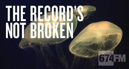 The Record's not broken