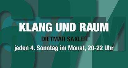 Banner_Klang und Raum - Dietmar Saxler