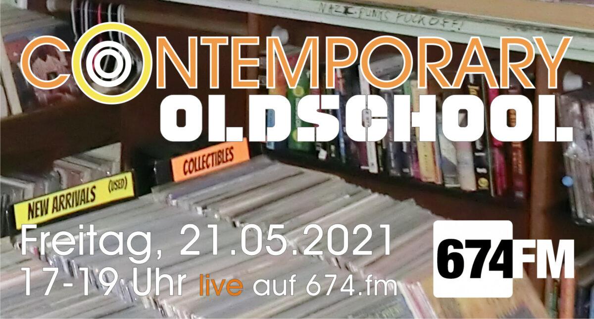Logo für die Sendung Contemporary Oldschool #15 live auf 674.fm